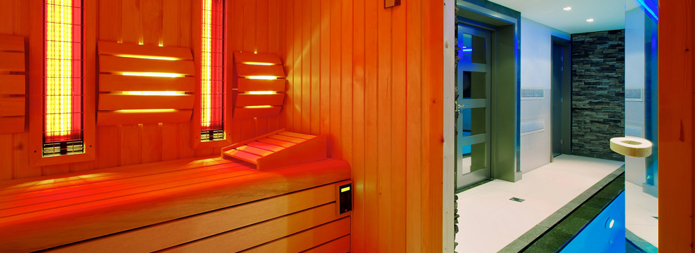 een cabine in huis