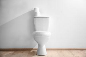 toiletpot hangend